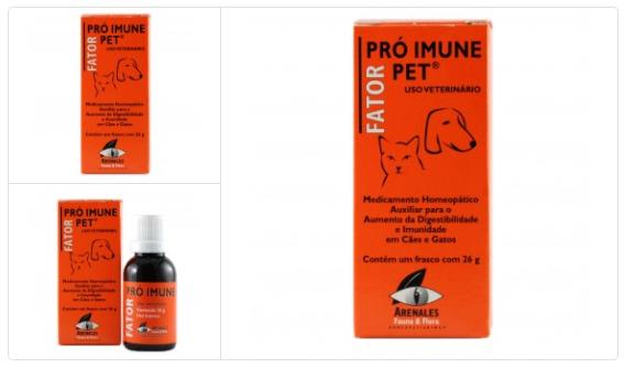remedio para sistema imunologico pet