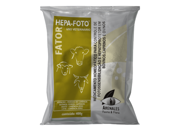 Fator Hepa-Foto® - Arenales Homeopatia Animal